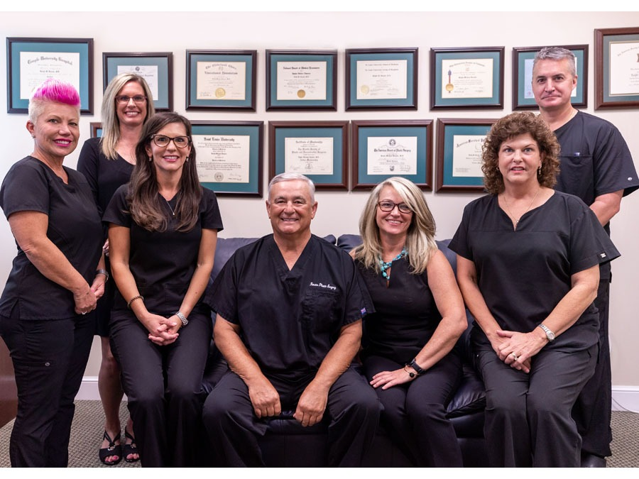 The Rosato Plastic Surgery Center staff